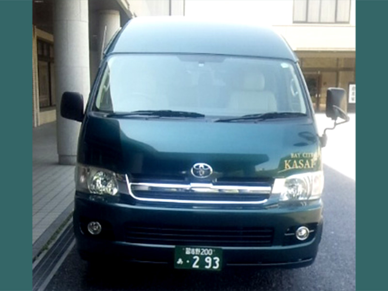 貸切小型バス設備内容1